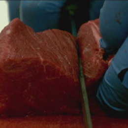 Meat Cutters Compete For Rare Chance