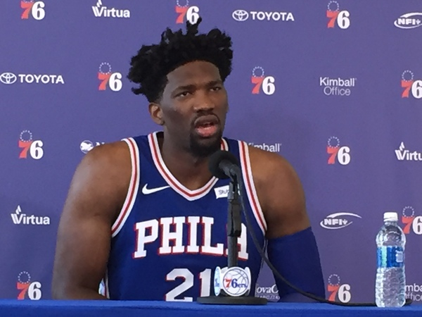 Sixers Embiid Off to a Blazing Start