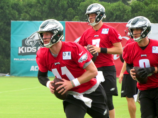 Wentz Looking to Play in the Eagles Opener