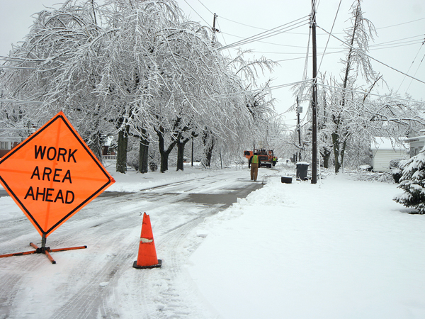 Winter Storm Leaves Thousands In The...