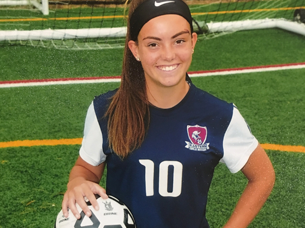 Former Eastern Soccer Star Kelli McGroarty Preparing for the Next Level at La Salle