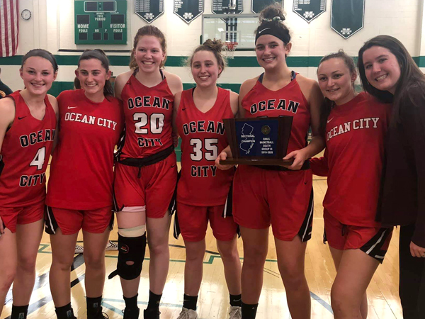 A Championship Season for Ocean City's Girls' Basketball Team