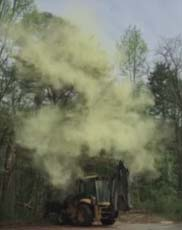 Massive Pollen Cloud Gets Sent...