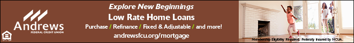 Andrews Credit Union Mortgage July 728x90