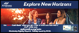 Andrews Credit Union July Auto