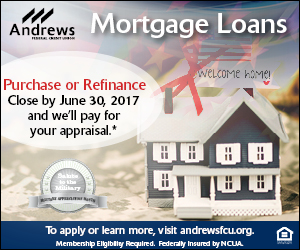 Andrews Credit Union May Military Mortgag 300x250