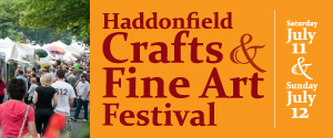 Haddonfield Craft Fair 300 x 125